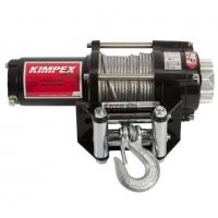 Лебедка электрическая KIMPEX 2500, со стальным тросом
