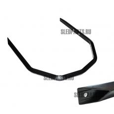 Бампер передний SPI Ski-doo / Lynx black