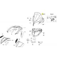Стекло ветровое Ski-doo / Lynx 2мм