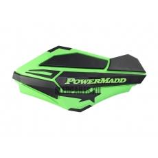 Ветровые дефлекторы руля PowerMadd SENTINEL green/black