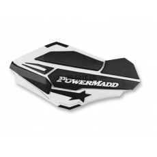 Ветровые дефлекторы руля PowerMadd SENTINEL white /black