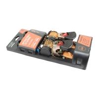 Ремни стяжные HORD HD Retractable 1,8м x 25мм Orange