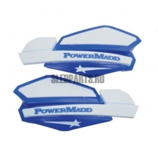 Ветровые дефлекторы руля PowerMadd blue/white