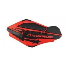 Ветровые дефлекторы руля PowerMadd SENTINEL red/black