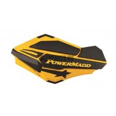 Ветровые дефлекторы руля PowerMadd SENTINEL yellow/black