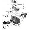 Комплект блока цилиндров SPI Ski-doo Lynx 800R P-TEK E-TEC