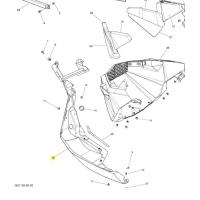 Панель нижняя левая Ski-doo / Lynx