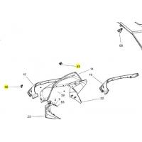 Защелка лобового стекла SPI Ski-doo / Lynx