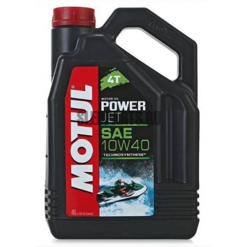 Масло MOTUL Powerjet 4T 10W40 4L