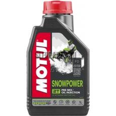 Масло MOTUL SnowPower 2T 1L