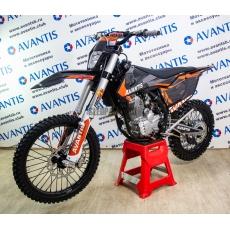 Мотоцикл AVANTIS ENDURO 250FA (172 FMM DESIGN KT ЧЕРНЫЙ) с птс