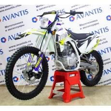Мотоцикл AVANTIS FX 250 LUX (172FMM) белый с птс