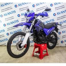 Мотоцикл AVANTIS KEWS MT250 (172 FMM) синий с птс
