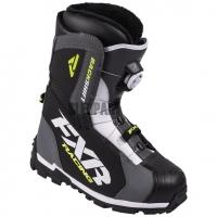 Ботинки FXR Backshift charcoal/hi-vis
