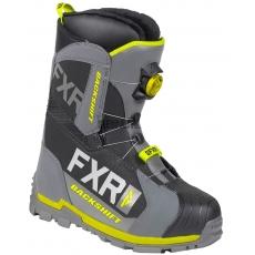 Ботинки FXR Backshift black/charcoal/hi-vis