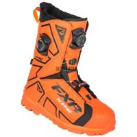Ботинки FXR Elevation Lite Dual Zone BOA orange/black