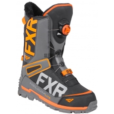 Ботинки FXR Helium Lite Boa Boot black/char/orange