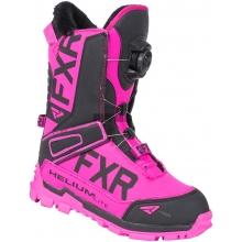 Ботинки FXR Helium Lite Boa Boot fuchsia/black