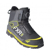 Ботинки FXR Helium Outdoor Boa Boot black/char/hi-vis