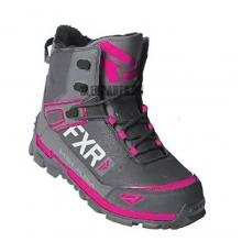 Ботинки FXR Helium Outdoor Speed Boot black/char/fuchsia