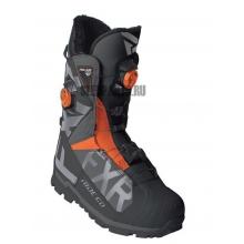 Ботинки FXR Helium Pro Boa Boot black/char/orange
