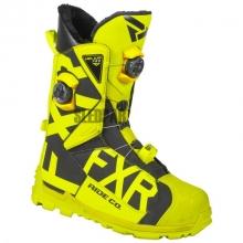 Ботинки FXR Helium Pro Boa Boot hi-vis/black