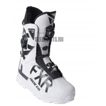 Ботинки FXR Helium Pro Boa Boot white/black