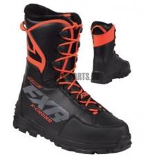 Ботинки FXR X-Cross Pro с утеплителем black/orange