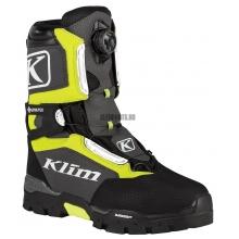 Ботинки KLIM Klutch GTX BOA hi-vis