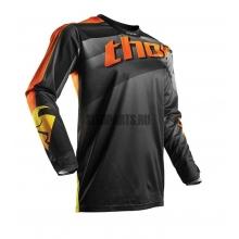 Джерси THOR  S7 PULS VEL black/orange L