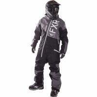 Комбинезон мужской с утеплителем FXR Squadron Charcoal/Black/White
