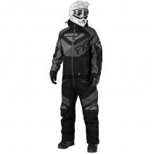 Комбинезон мужской FXR Fuel с утеплителем black/char/grey