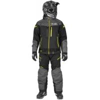 Комбинезон мужской легкий FXR Elevation Dry-Link2pc Black/Charcoal/Hi-vis