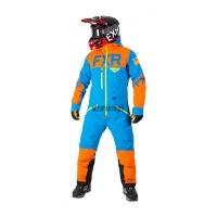 Комбинезон мужской легкий FXR Helium Lite Tri-Lam Blue/Orange/Hi-Vis