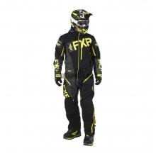 Комбинезон мужской легкий FXR Ranger Instinct black/charcoal/hi-vis