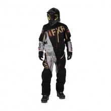 Комбинезон мужской легкий FXR Ranger Instinct black/grey/rust/gold