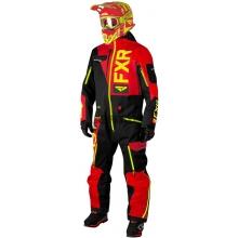 Комбинезон мужской легкий FXR Ranger Instinct Black/Red/Hi-vis