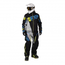 Комбинезон мужской легкий FXR Ranger Instinct SX Pro black/grey/hi-vis/blue