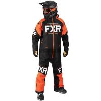 Комбинезон мужской с утеплителем FXR Clutch Black/Orange