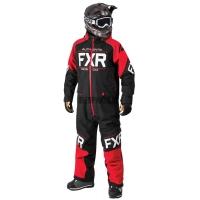 Комбинезон мужской с утеплителем FXR Clutch Black/Red