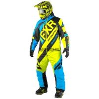 Комбинезон мужской утепленный FXR CX Blue/Black/Hi-Vis