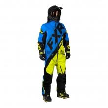 Комбинезон мужской утепленный FXR CX blue/hi-vis/black