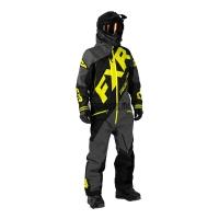 Комбинезон мужской утепленный FXR CX charcoal/black/hi-vis