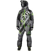 Комбинезон мужской утепленный FXR CX Charcoal/Black/LT Grey/Lime