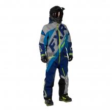 Комбинезон мужской утепленный FXR CX lt grey/navy/blue/hi-vis