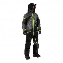 Комбинезон мужской утепленный FXR CX сharcoal/black/lime