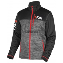 Куртка FXR Elevation сhar heather/red
