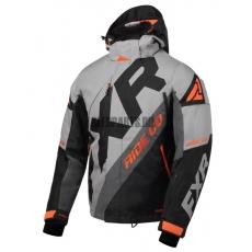 Куртка мужская утепленная FXR CX grey/black/char/orange