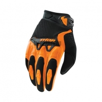 Перчатки ICON S15 Spectrum Glove orange