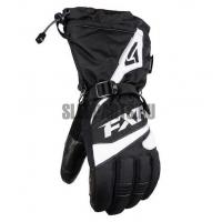 Перчатки мужские FXR Fuel black/white